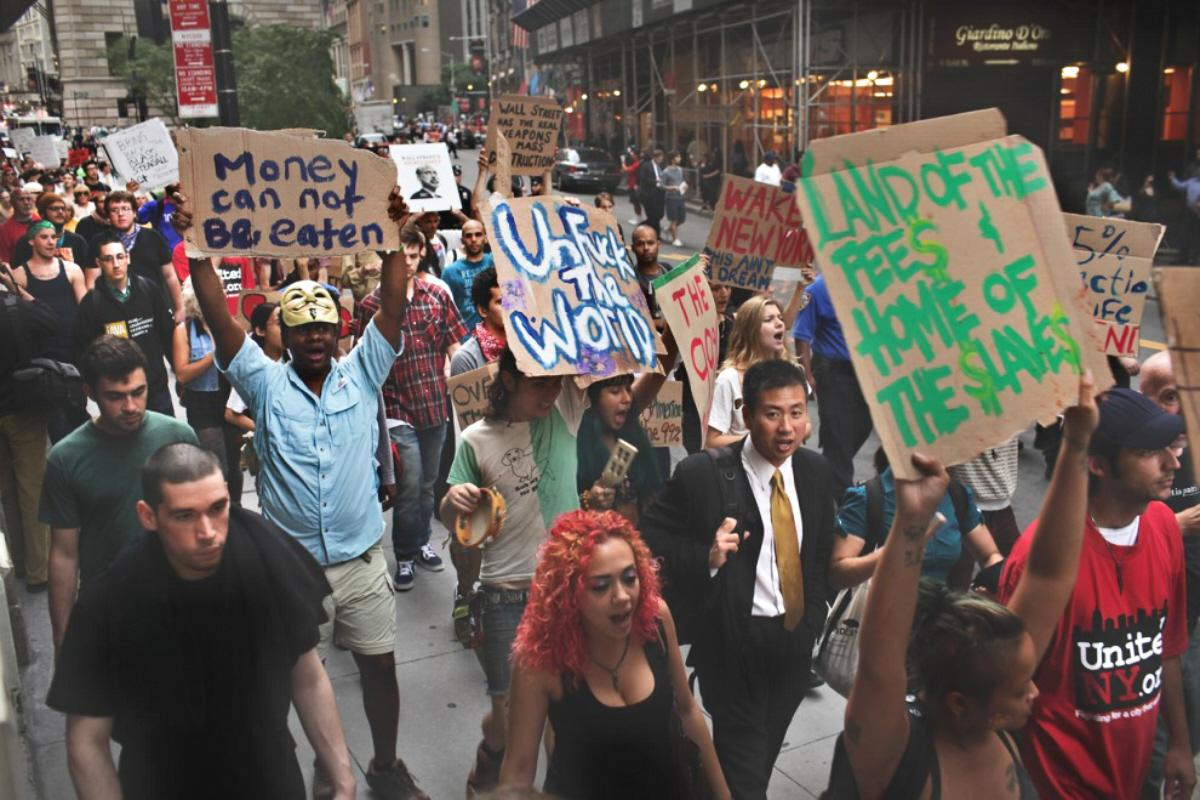what happened to occupy wall street I see occupy wall street as being another one of those great historical moments, when something surprising happened and a whole generation got politicized, he said.