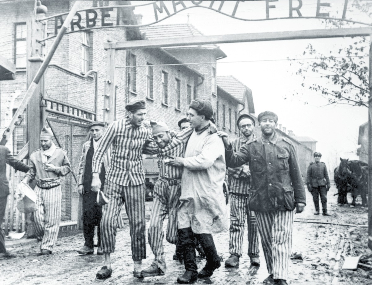 Liberation of Auschwitz by Red Army. 12.11