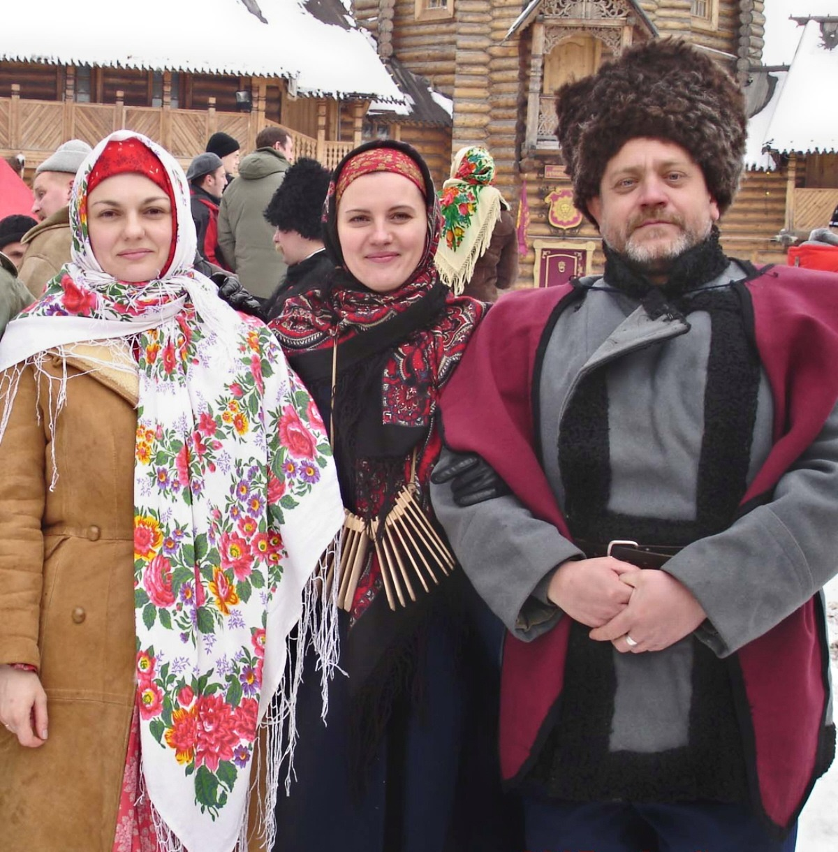 00 Russian Cossacks at Maslenitsa Carnival in Ismailovo