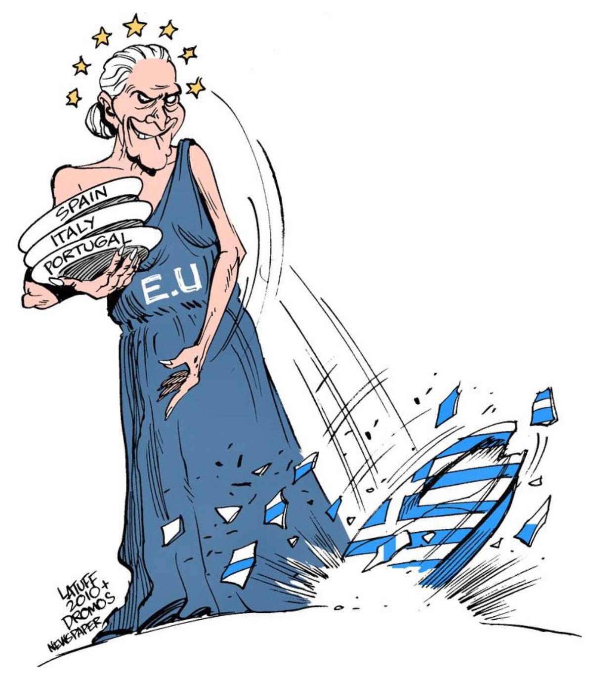 00 Carlos Latuff. Greek economic Crisis. 2010
