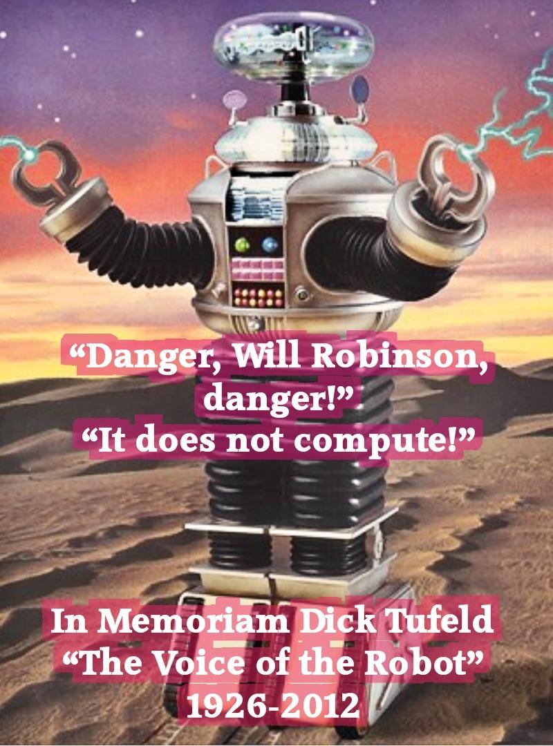 Danger Will Robinson!  YouTube