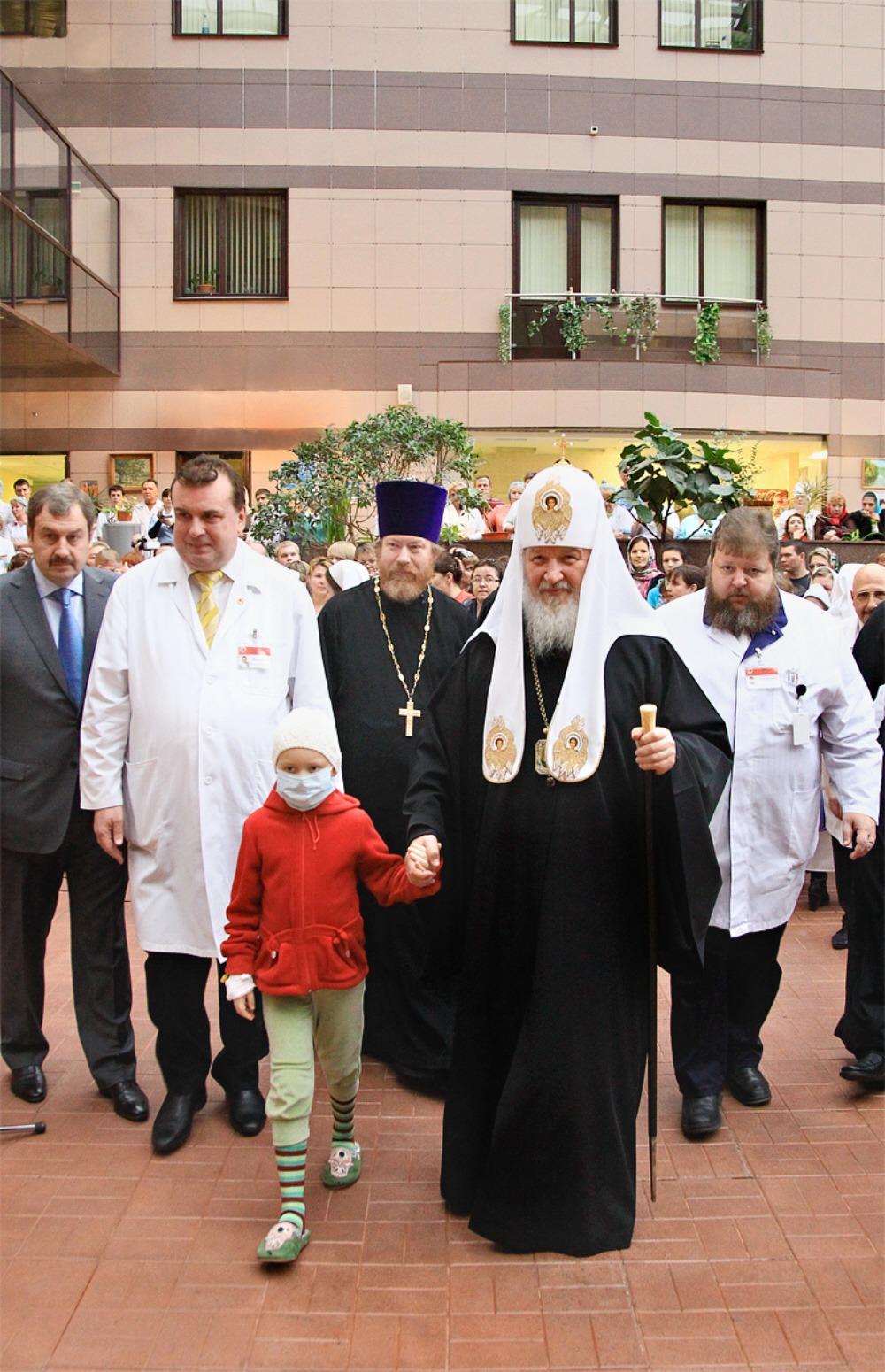 00 Patr Kirill 3. sick kids. 01.12