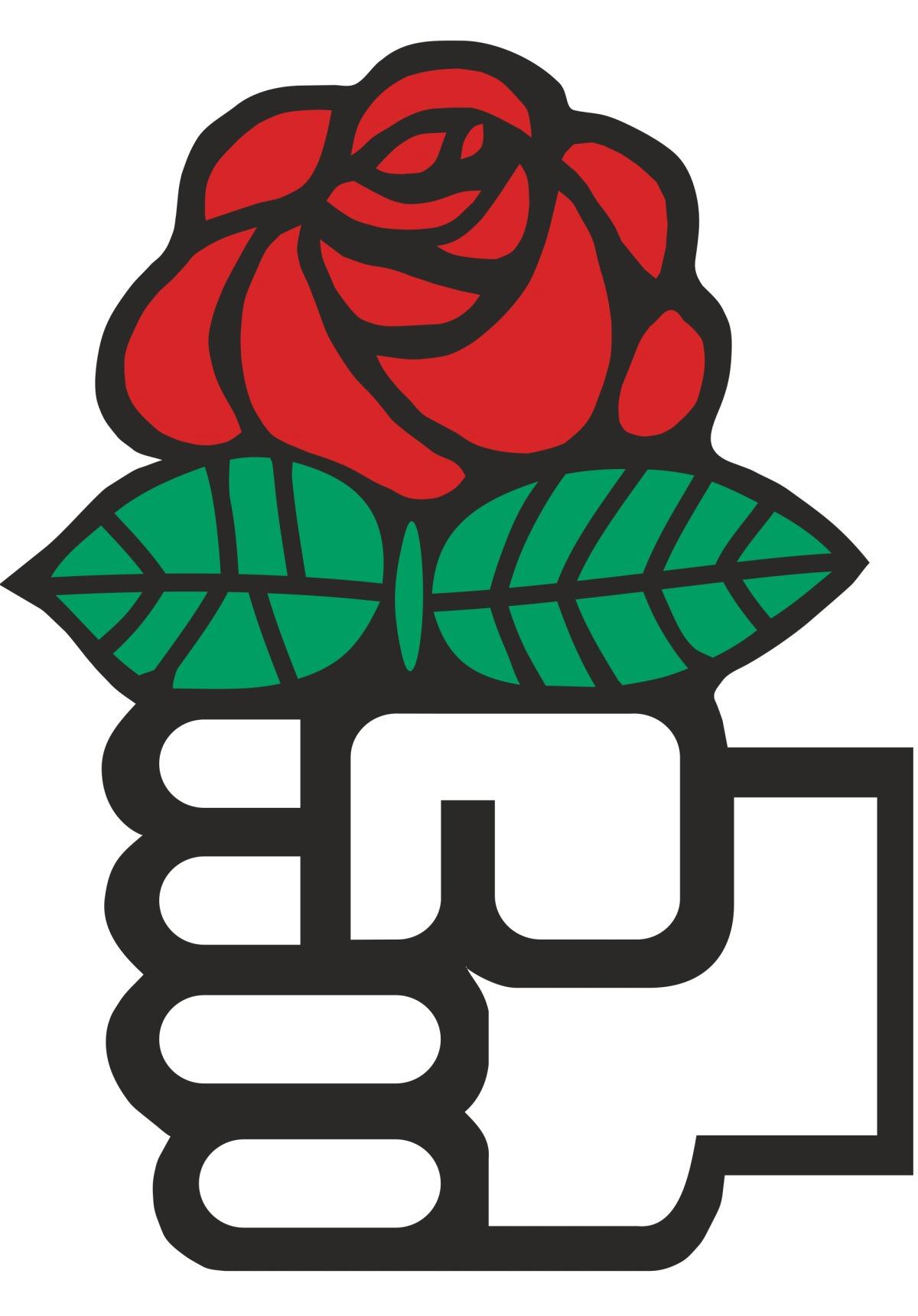 00 Red Rose (Socialism)
