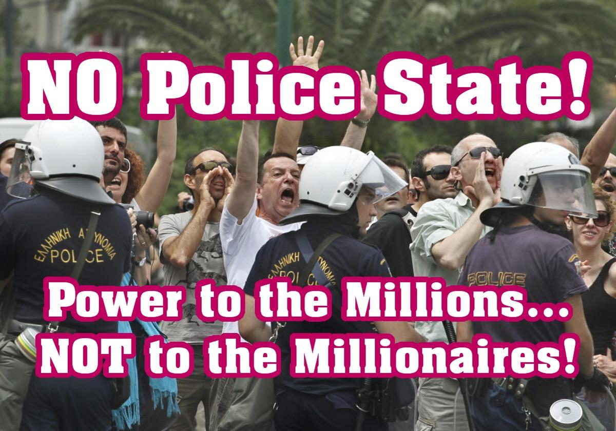 Barbara-Marie Drezhlo. NO Police State! 2012