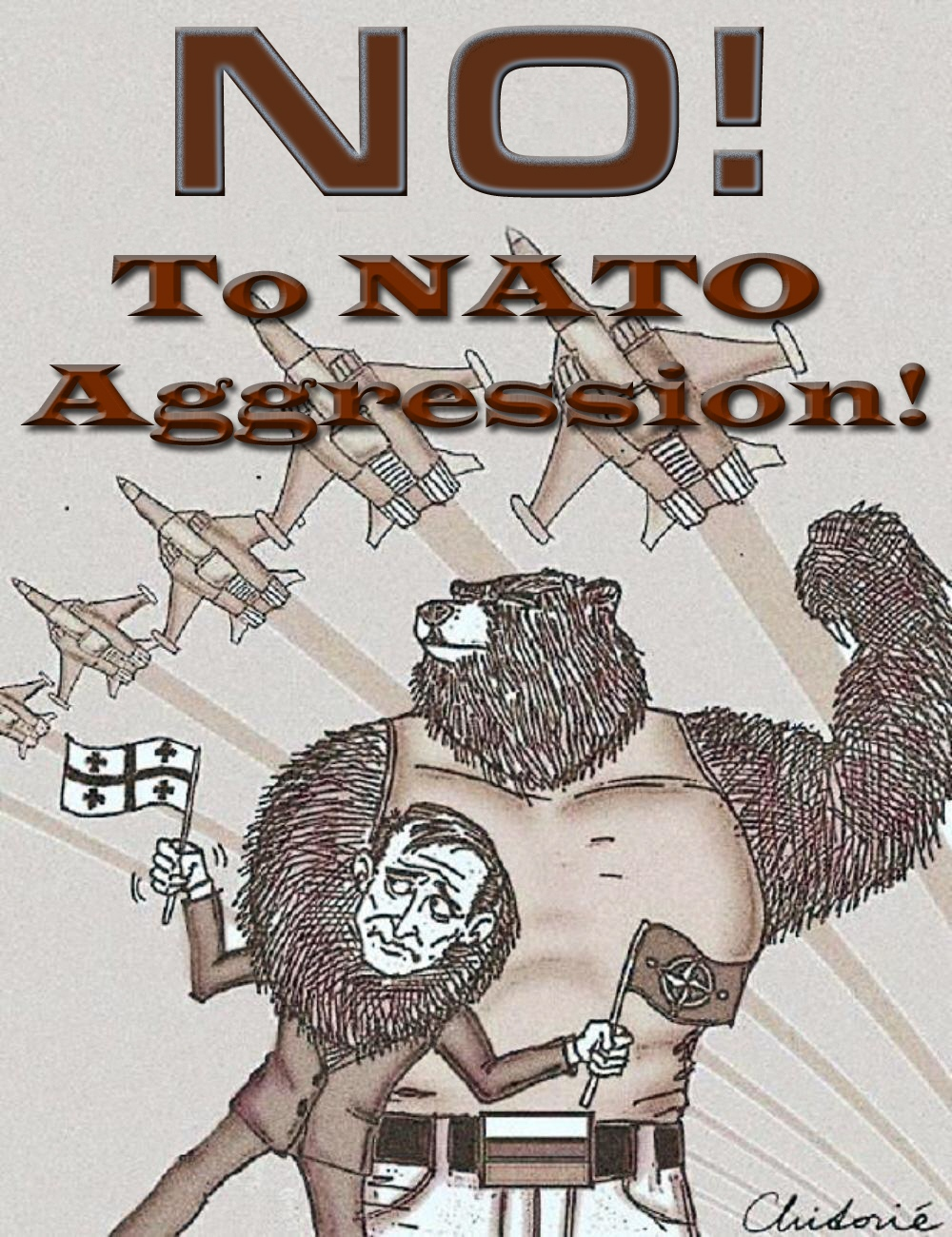 Barbara-Marie Drezhlo. NO! To NATO Aggression! 2012