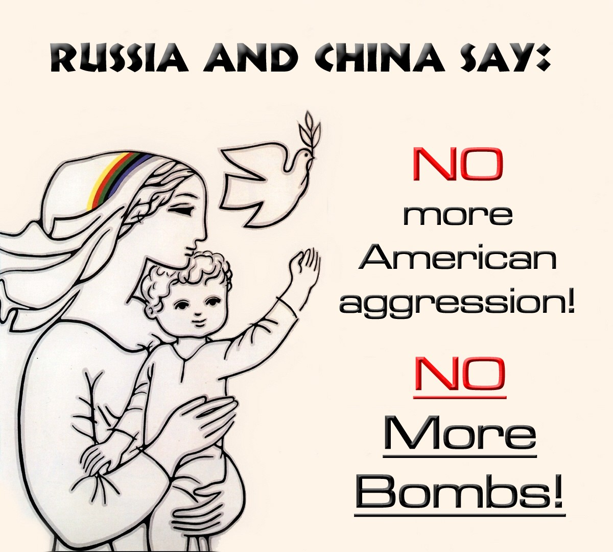 Barbara-Marie Drezhlo. Russia and China Say... NO WAR IN SYRIA! 2012