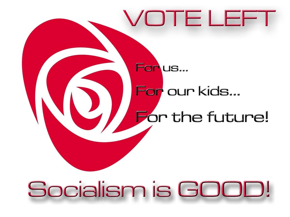 Barbara-Marie Drezhlo. Socialism is GOOD! 2012