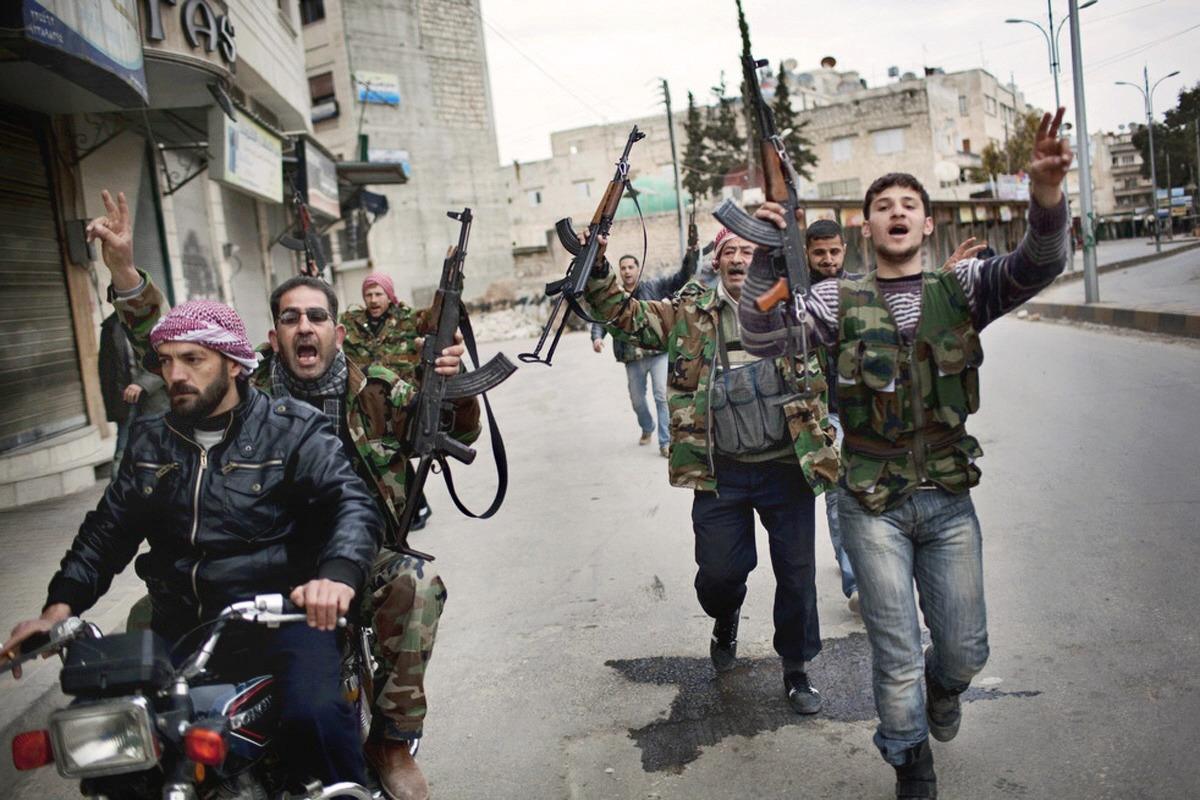 00 Syrian Islamist insurgent terrorists