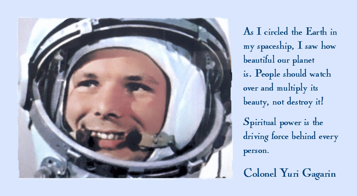 Today was the birthday of Yu A Gagarin ... 723636640a1