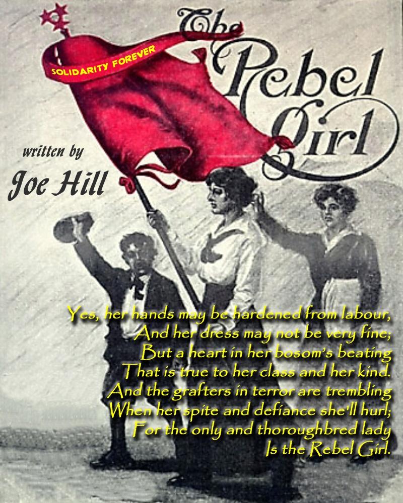 01 Joe Hill. The Rebel Girl. 22.03.12