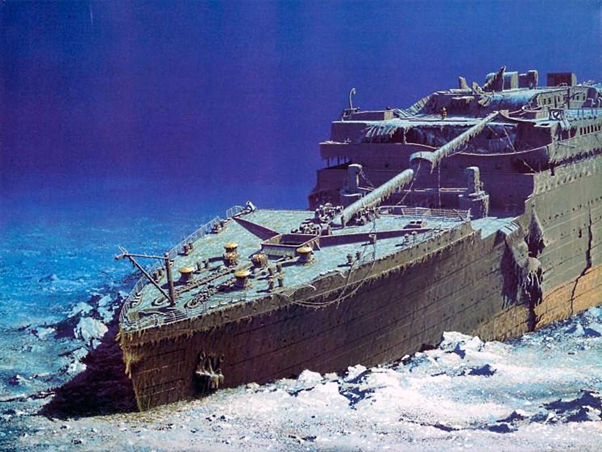 I Titanic Rms Titanic Wreck Site