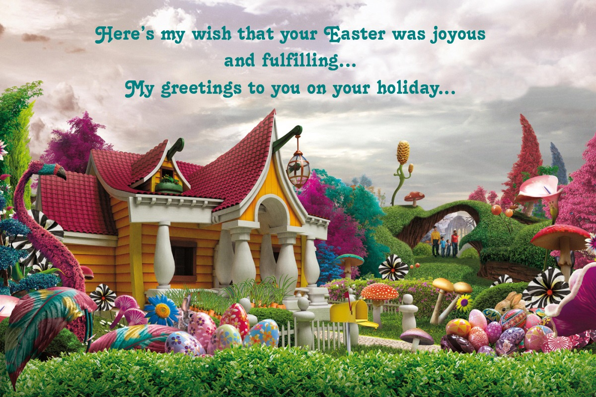8 April 2012 My Greetings To All Those Celebrating Easter Today