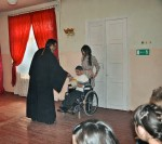 00h Easter in Pyatigorsk. disabled kids