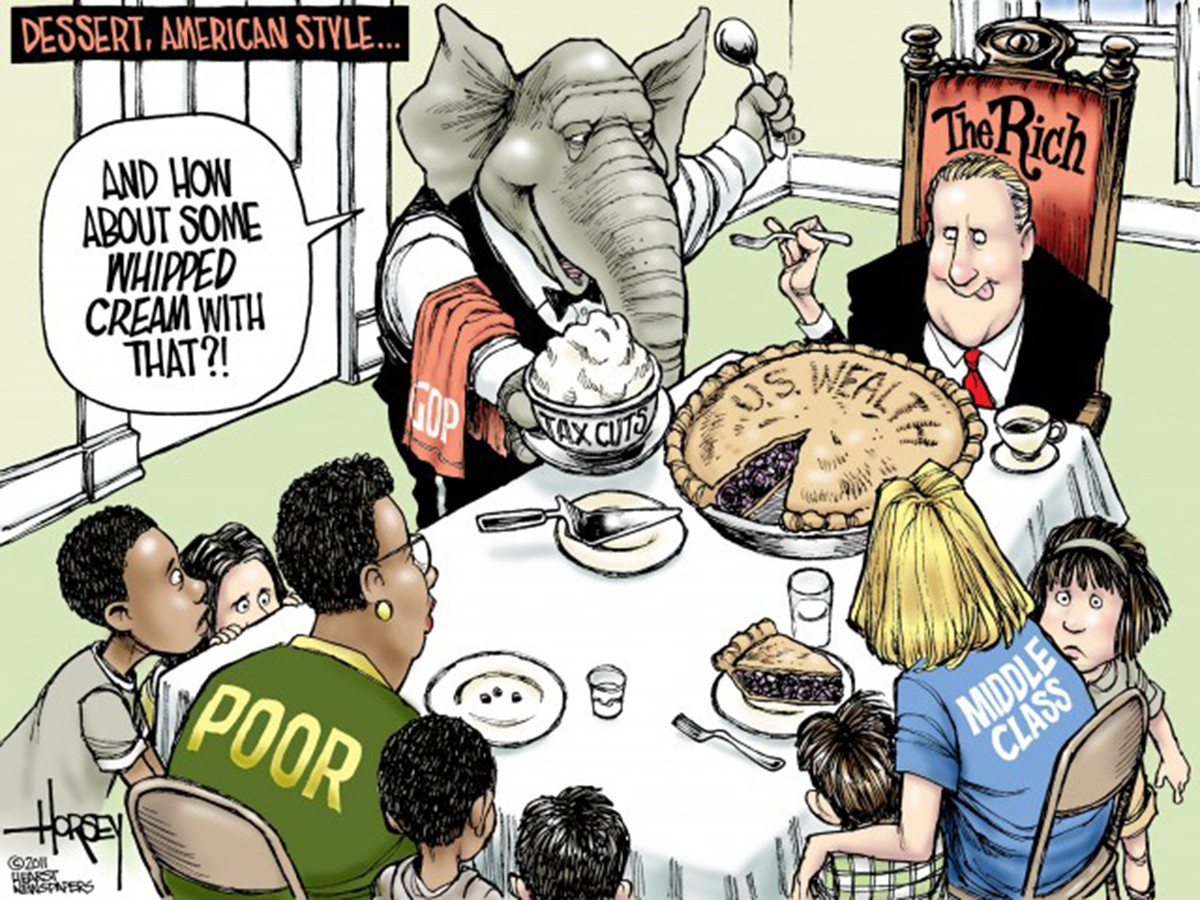 rhetoric analysis of a political cartoon