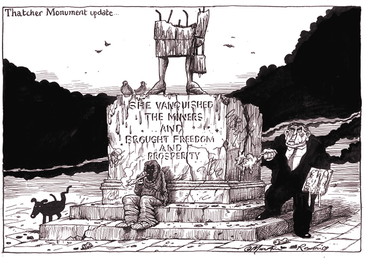 00 Martin Rowson. She Vanquished the Miners. 2009