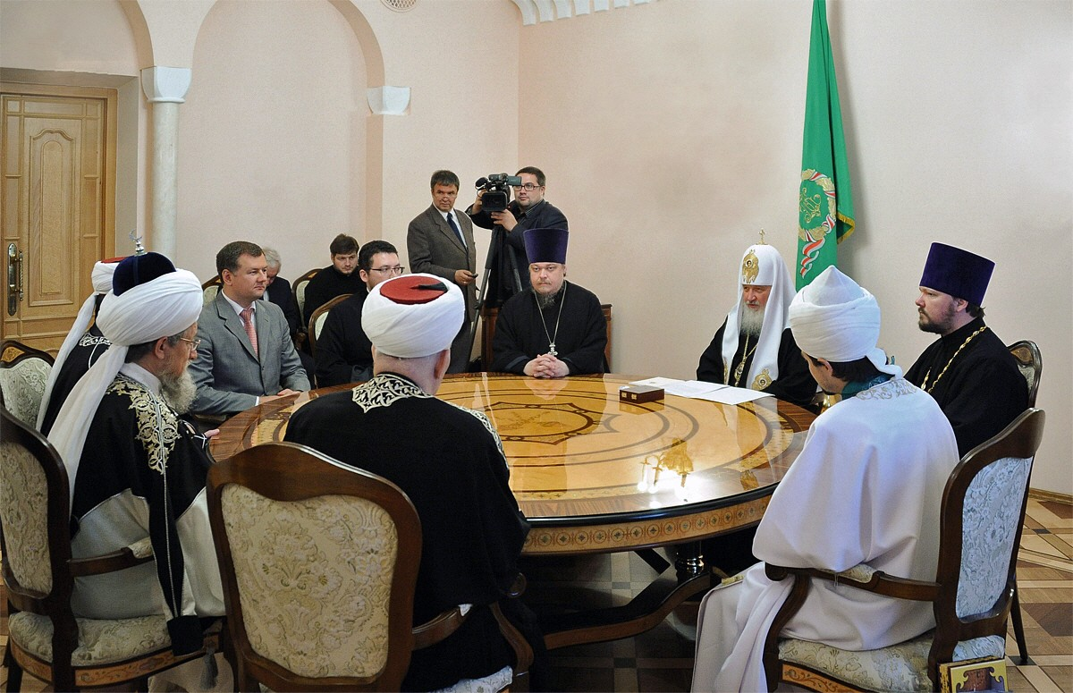 00.0a Patr Kirill and Central Spirtual Board of Russian Muslims. 15.06.12