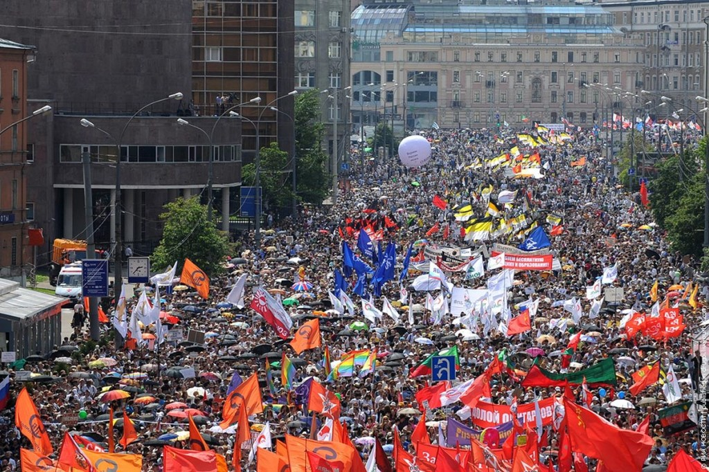 00 9 June 2012. March of Millions. Moscow