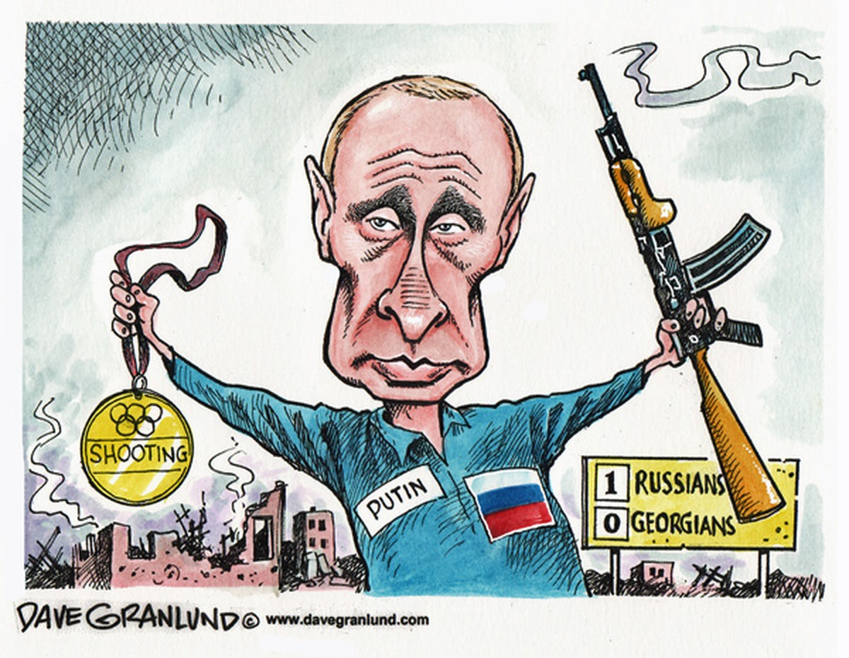 Image result for Putin CARTOON