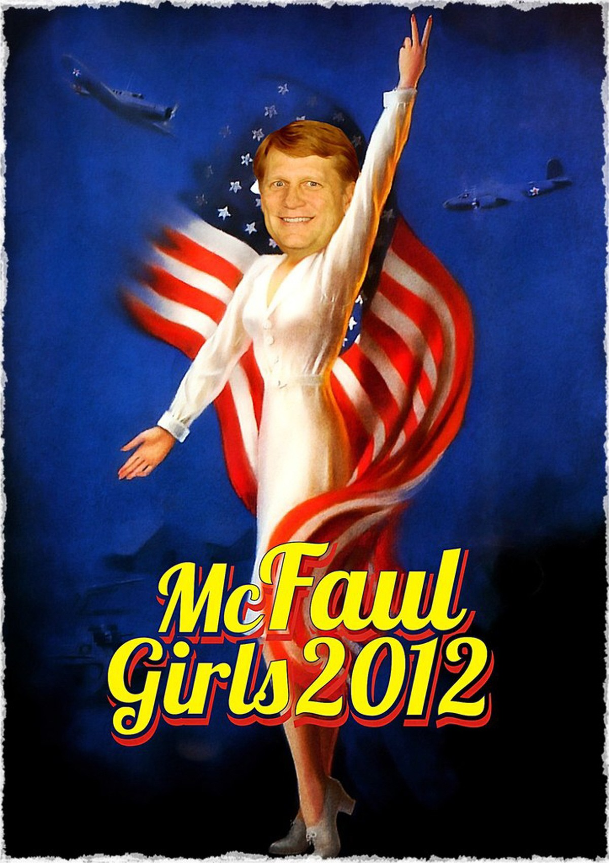 00 Russian caricature of Michael McFaul. 06.12