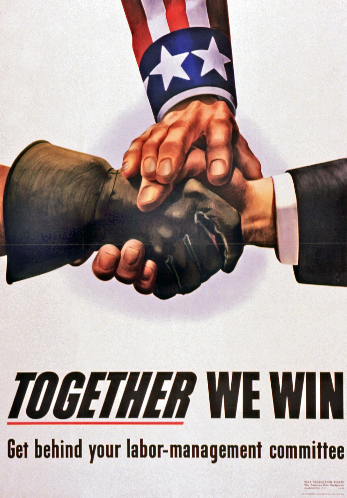 00 Unknown Artist. Together we win. ca 1942-3