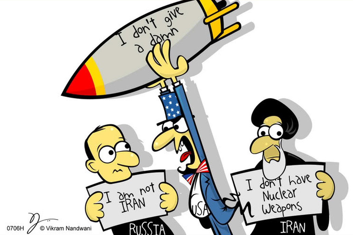 00 USA political cartoon missile defence