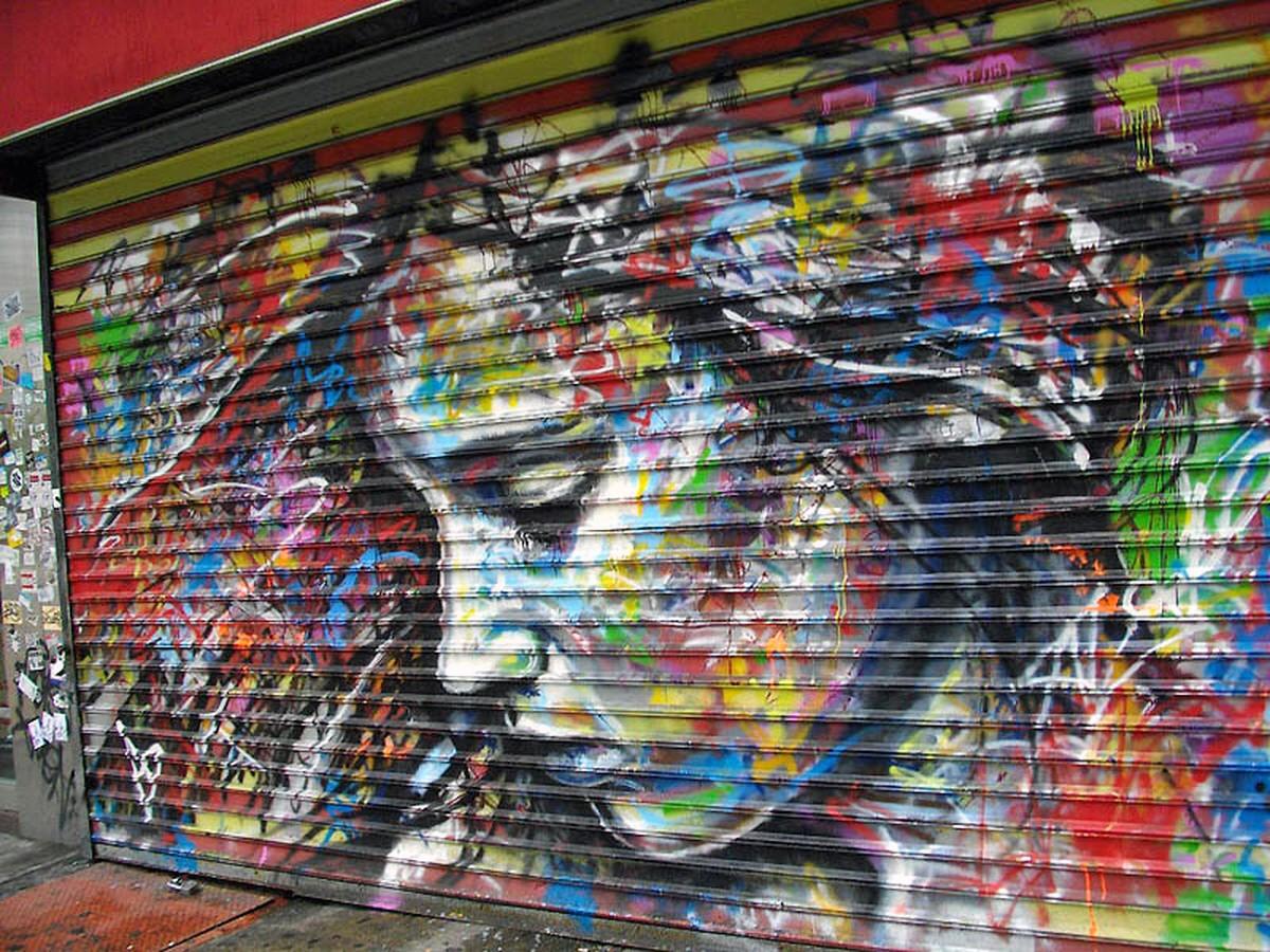 00g Street Art. NY NY USA. 05.12 | Voices from Russia
