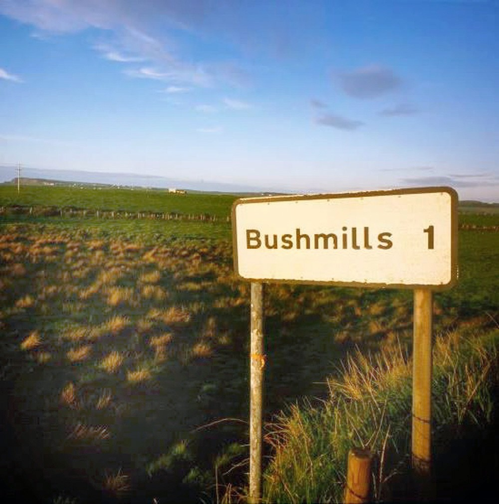 00 Sign to Bushmills