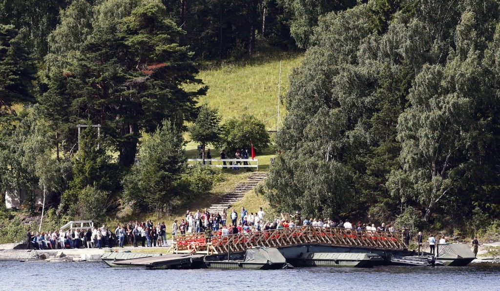 00g Norway memorial. Breivik. 23.07.12