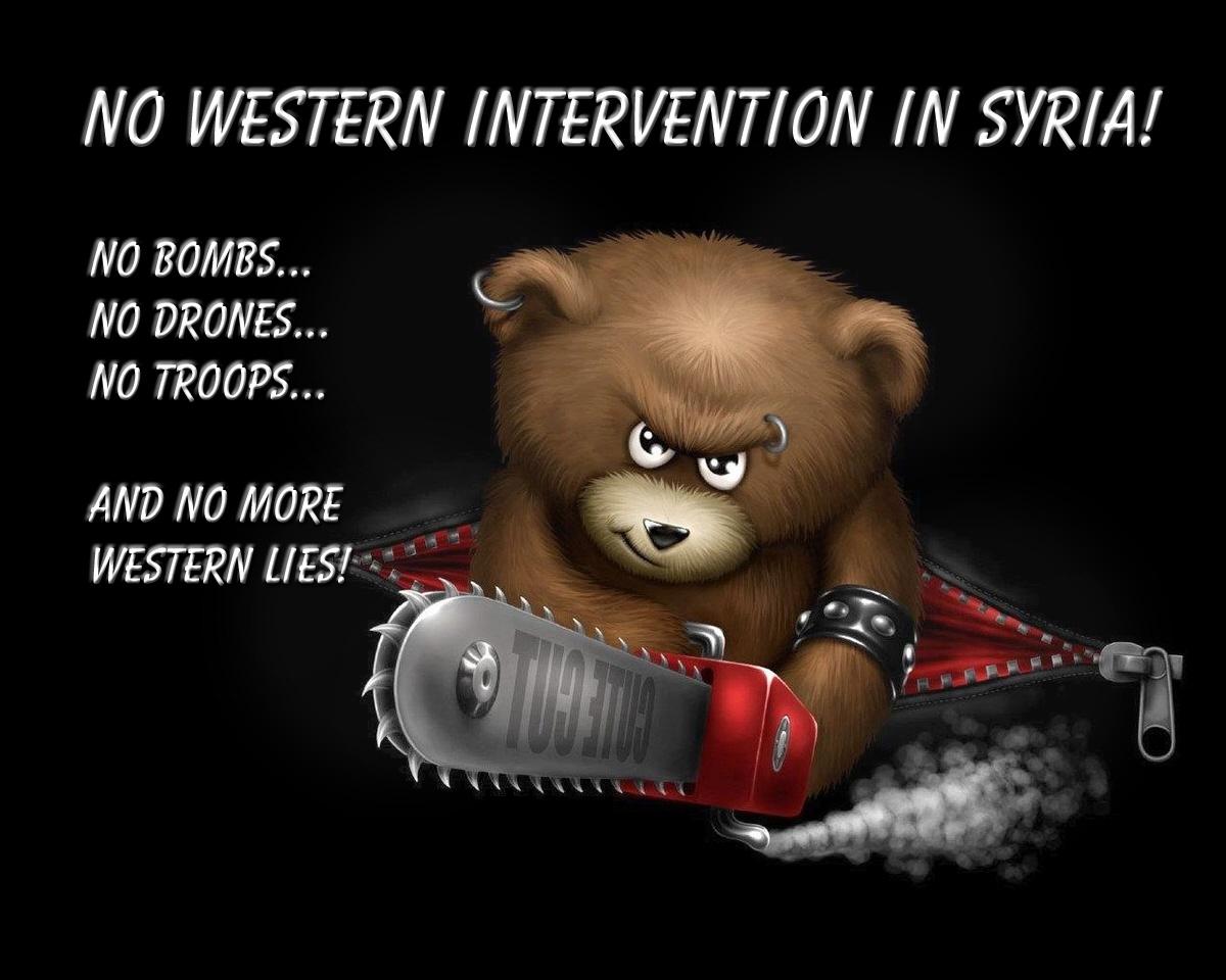 00 NO Western Intervention in Syria. 08.12