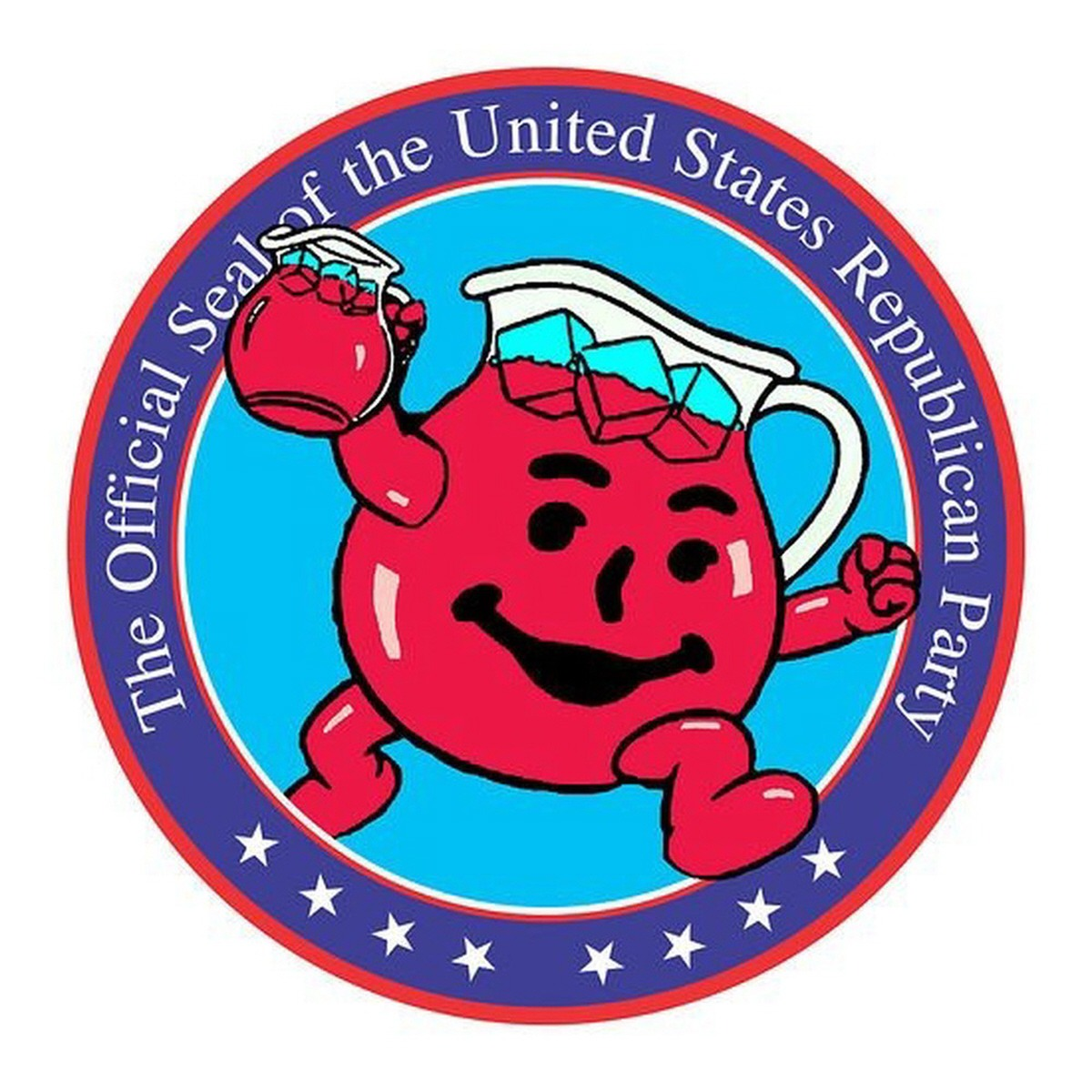 The Republican News: 00 'Official Seal Of The US Republican Party'