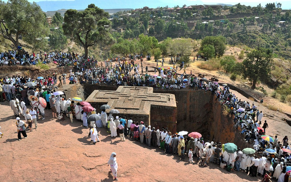 00.0c Lalibela. Ethiopia. Church of St George