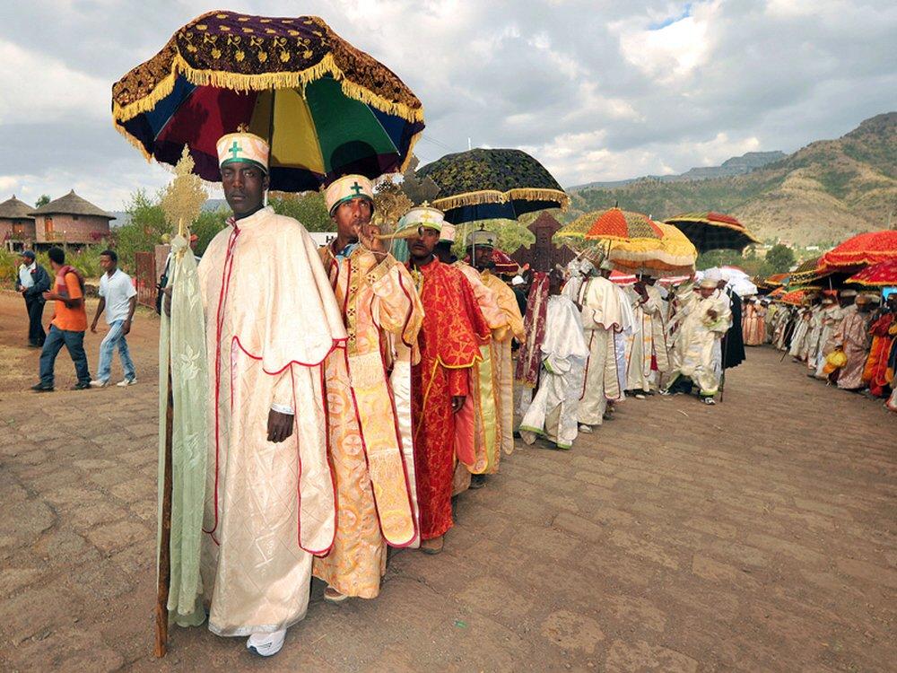 00.0l Lalibela. Ethiopia. Timkat