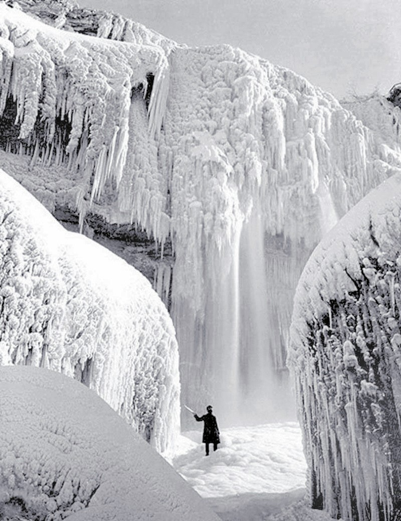 100+ ideas to try about New York State (Niagara Falls ... |Niagara Falls Frozen 2009
