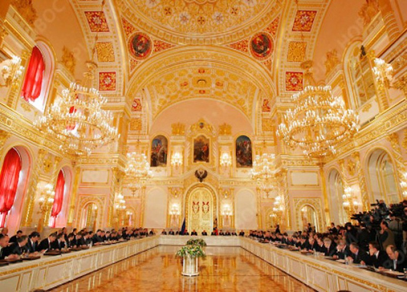 00 Grand Kremlin Palace. Aleksandrovsky Hall. 09.12