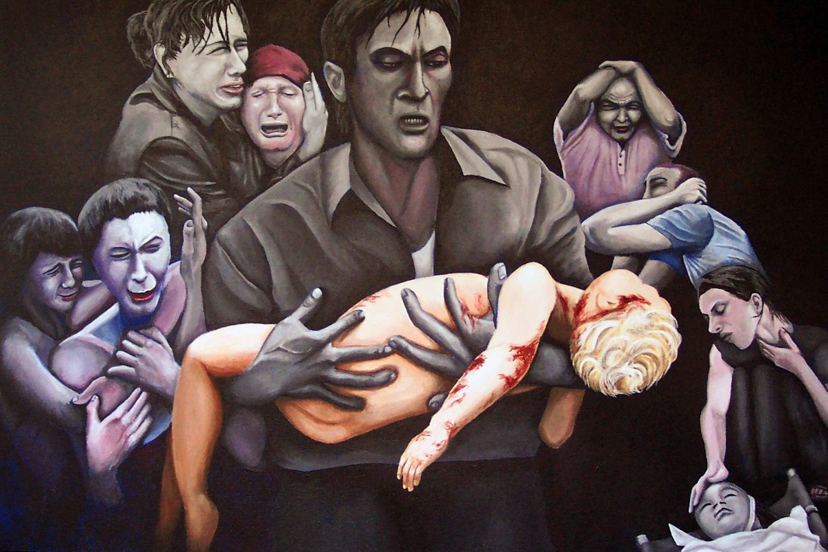 00 In Honour of Beslan. jfkpaint. 2008