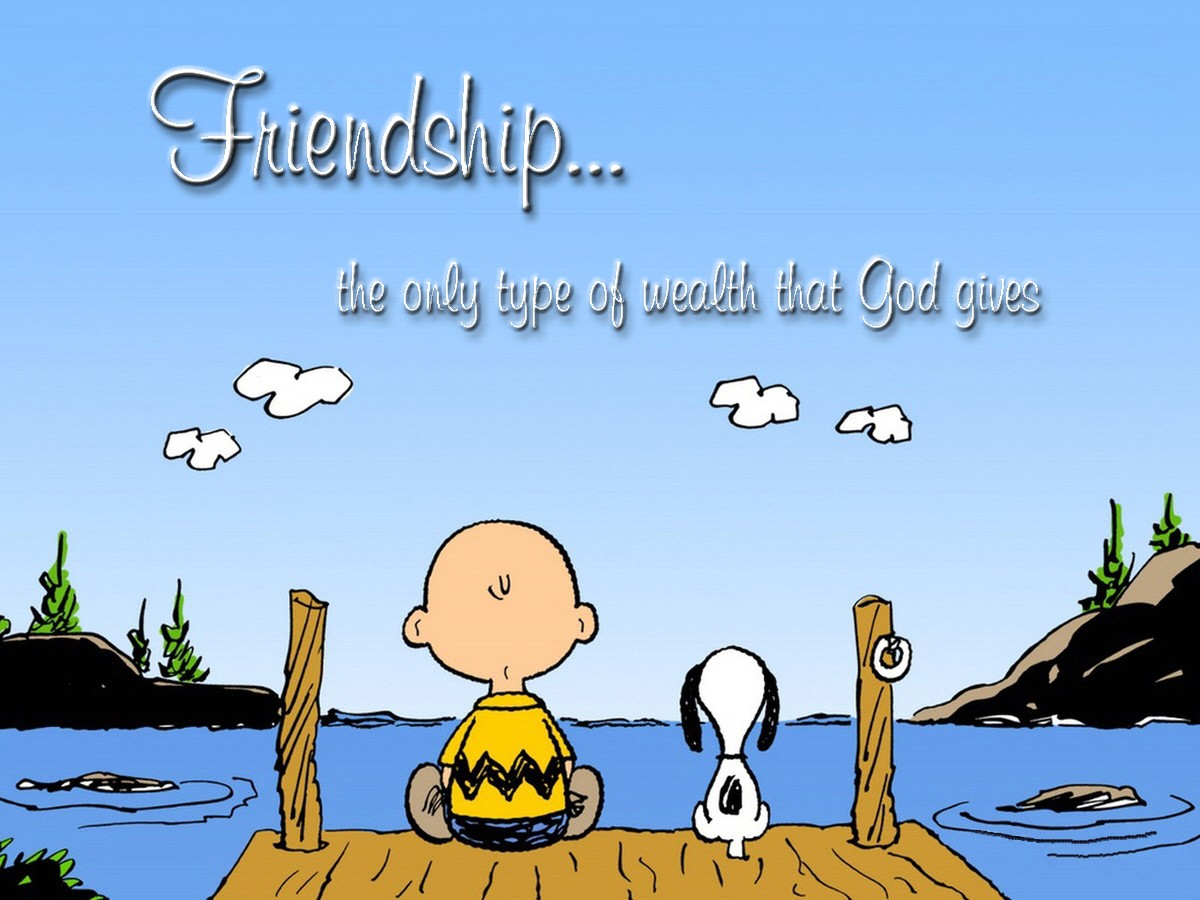 00 Snoopy and Charlie Brown Friends