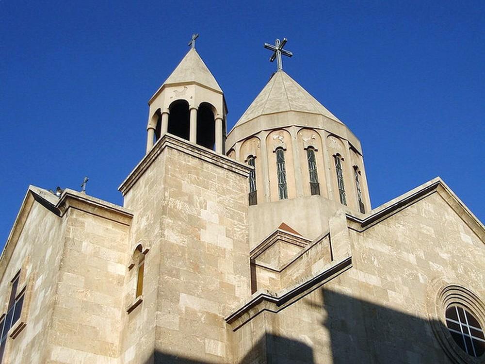 00 St Mary Armenian Apostolic Church in Aleppo SYRIA