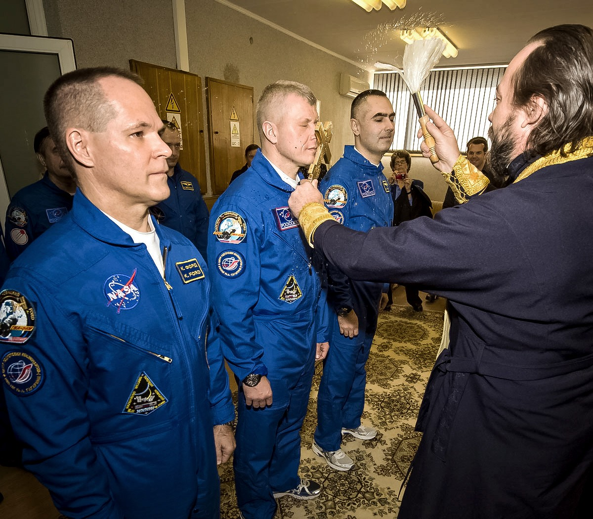 00a ISS crew. 29.10.12. Baikonur