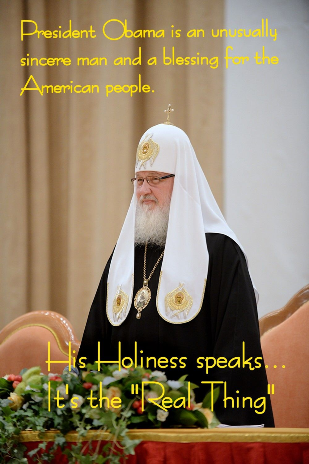 00 09.11 Patriarch Kirill on President Obama