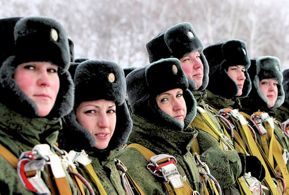 00 female VDV paratrooper 01. Omsk. 30.11.12