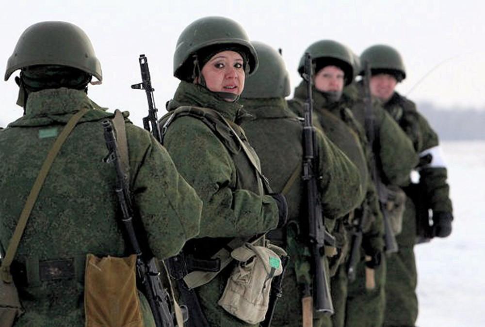 00 female VDV paratrooper 02. Omsk. 30.11.12