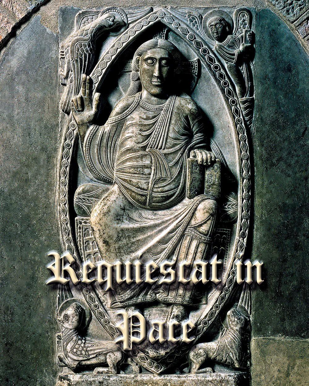 00 Requiescat in Pace. 19.11.12
