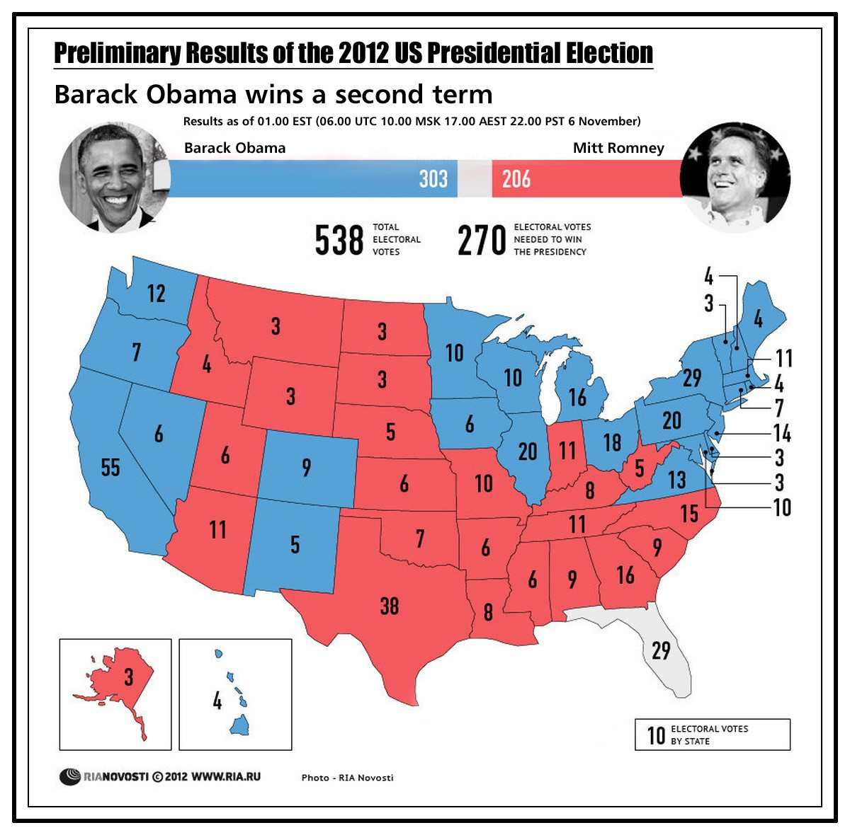 Map Of Us Election 2012 - 2012-us-presidential-election-map