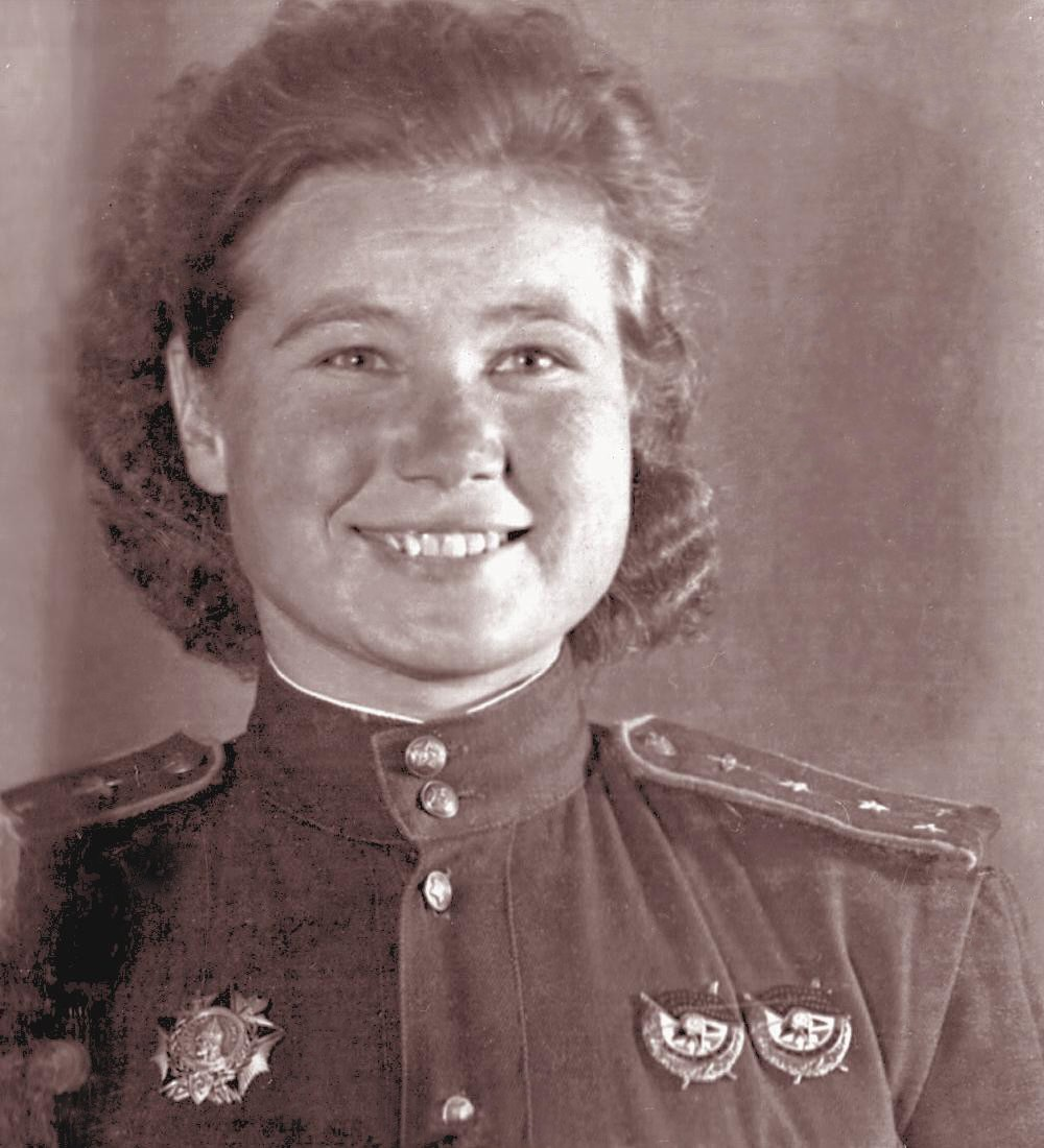 Captain Maria Smirnova of the 'Night Witches'