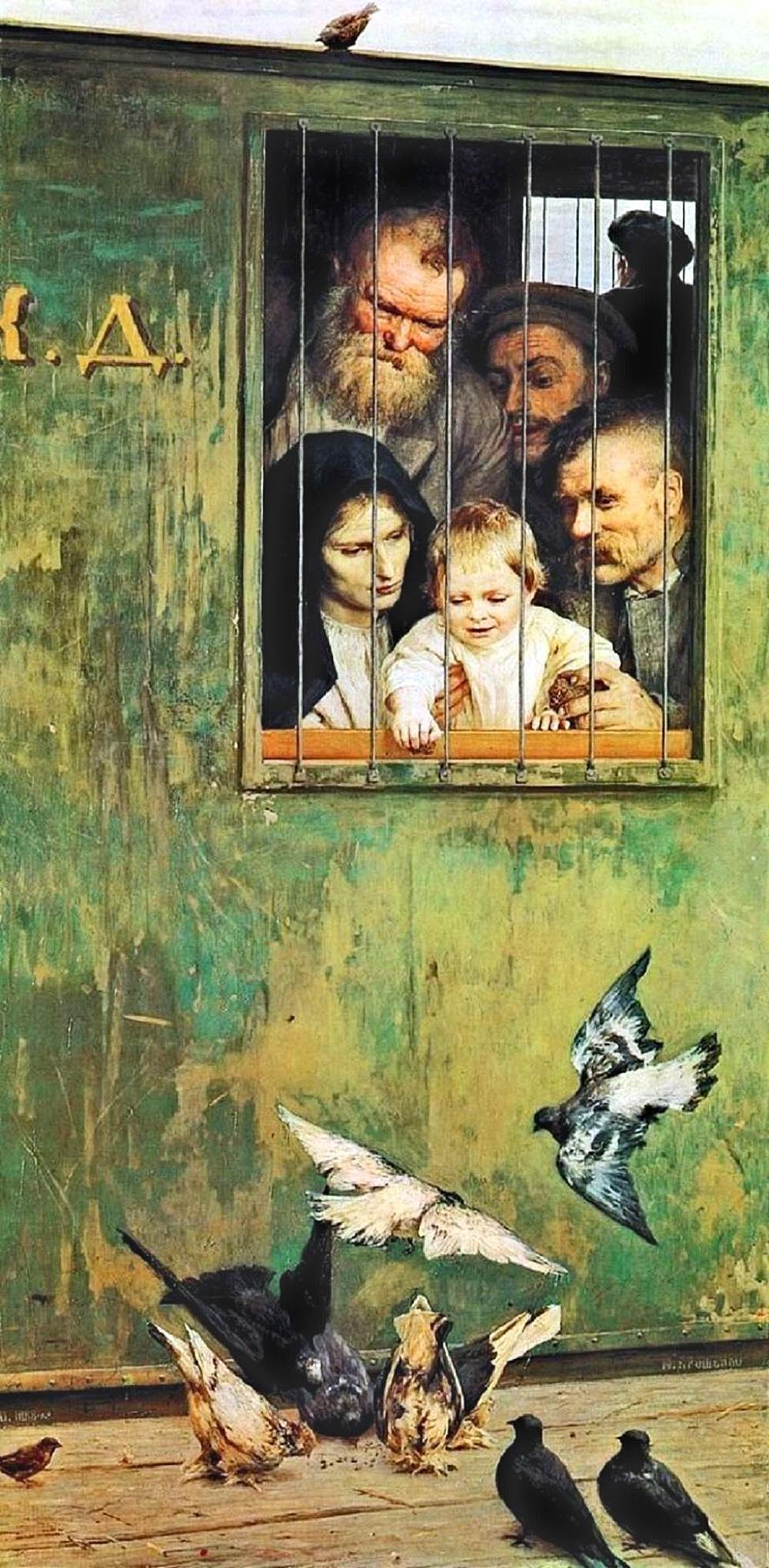 Nikolai Yaroshenko. Life is Everywhere. 1888