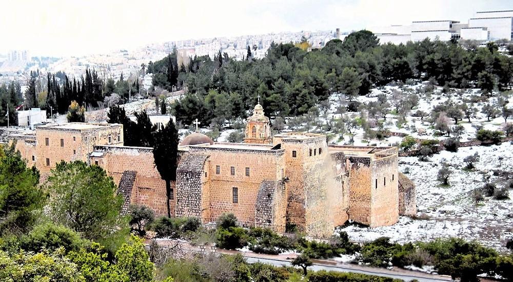 00 Monastery of the Holy Cross. Jerusalem. 16.12.12