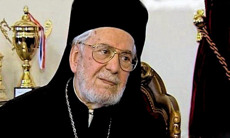 00 patriarch ignatius hazim of antioch. 04.12.12