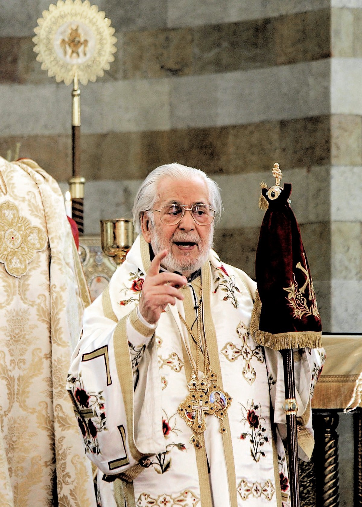 00 Patriarch Ignatius Hazim of Antioch and all the East. 05.12.12