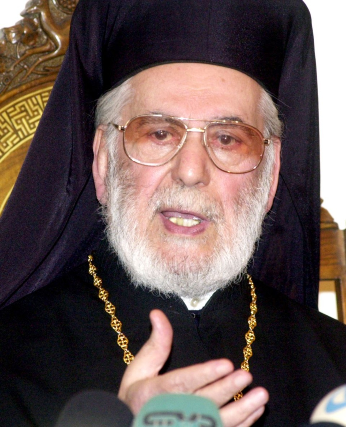 00 Patriarch Ignatius Hazim of Antioch and all the East. 06.12.12