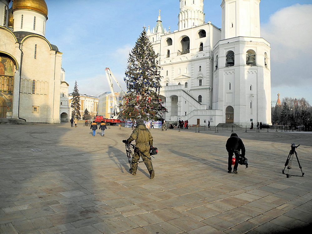 00a Kremlin Holiday Tree. 31.12.12